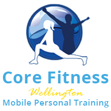 core fitness sqaure white